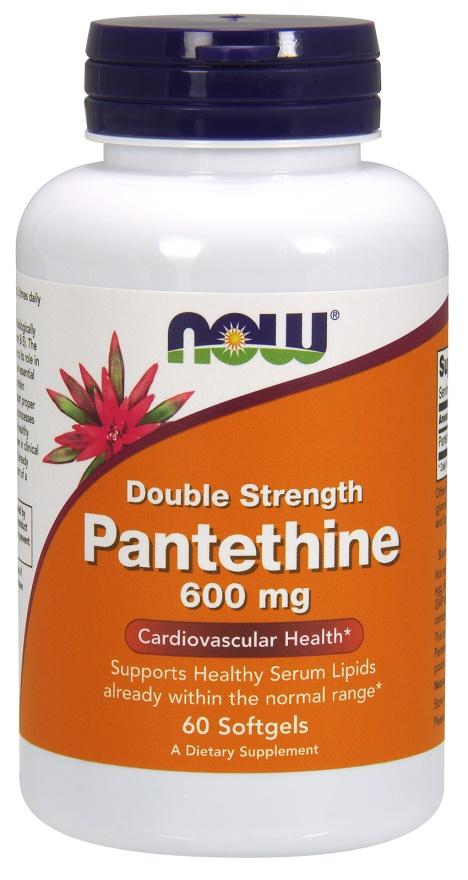 Pantethine, 600mg Double Strength - 60 softgels versandkostenfrei/portofrei bestellen/kaufen