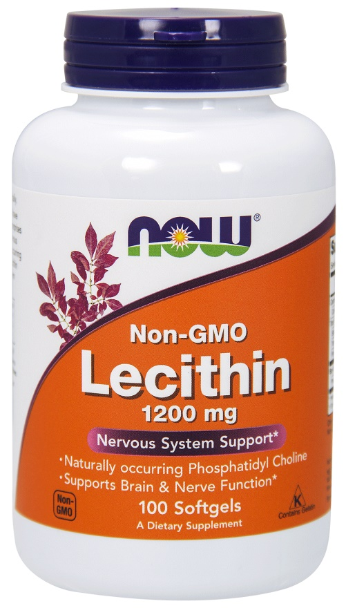 Lecithin, 1200mg Non-GMO - 100 softgels versandkostenfrei/portofrei bestellen/kaufen