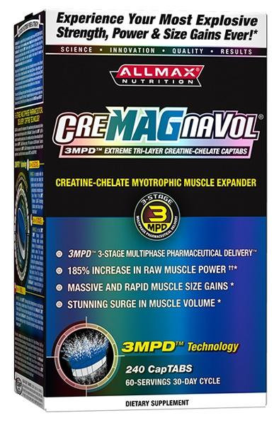 AllMax Nutrition CreMAGnaVol - 240 CapTABs