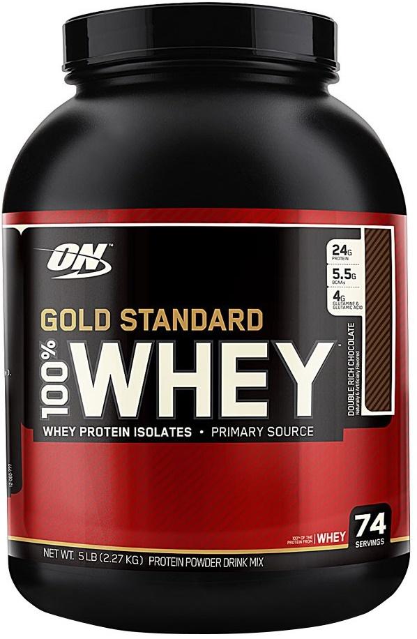 Gold Standard 100% Whey, Double Rich Chocolate - 2270g versandkostenfrei/portofrei bestellen/kaufen