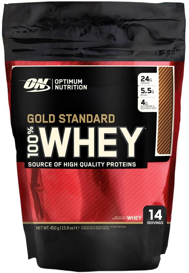 Gold Standard 100% Whey, Double Rich Chocolate - 450g versandkostenfrei/portofrei bestellen/kaufen