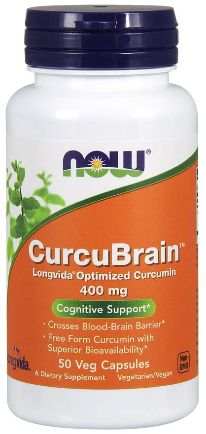 CurcuBrain, 400mg - 50 vcaps versandkostenfrei/portofrei bestellen/kaufen