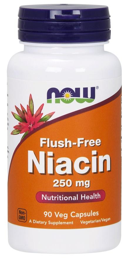 Niacin Flush-Free, 250mg - 90 vcaps versandkostenfrei/portofrei bestellen/kaufen