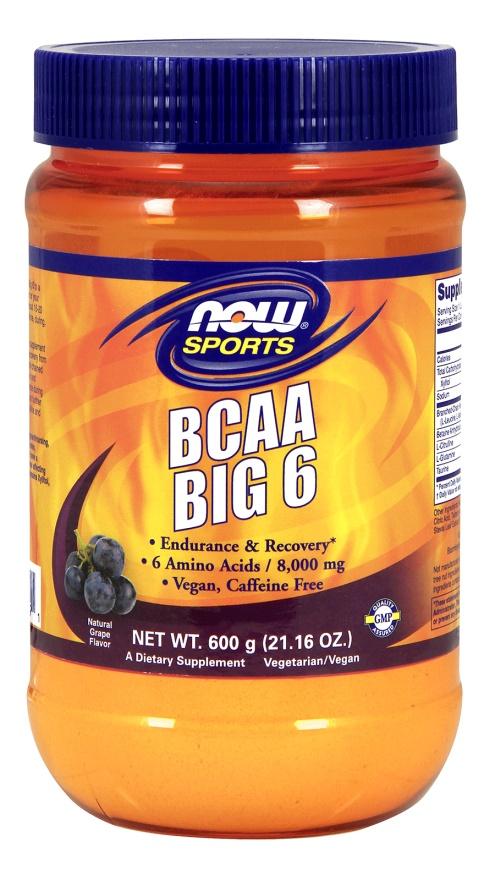 BCAA Big 6, Grape - 600g versandkostenfrei/portofrei bestellen/kaufen