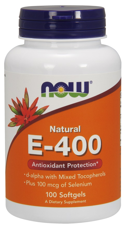 Vitamin E-400 IU with Selenium - 100 softgels versandkostenfrei/portofrei bestellen/kaufen