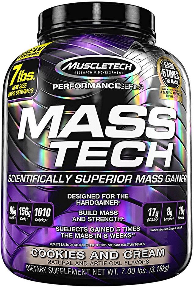 Mass-Tech, Vanilla - 3180g versandkostenfrei/portofrei bestellen/kaufen