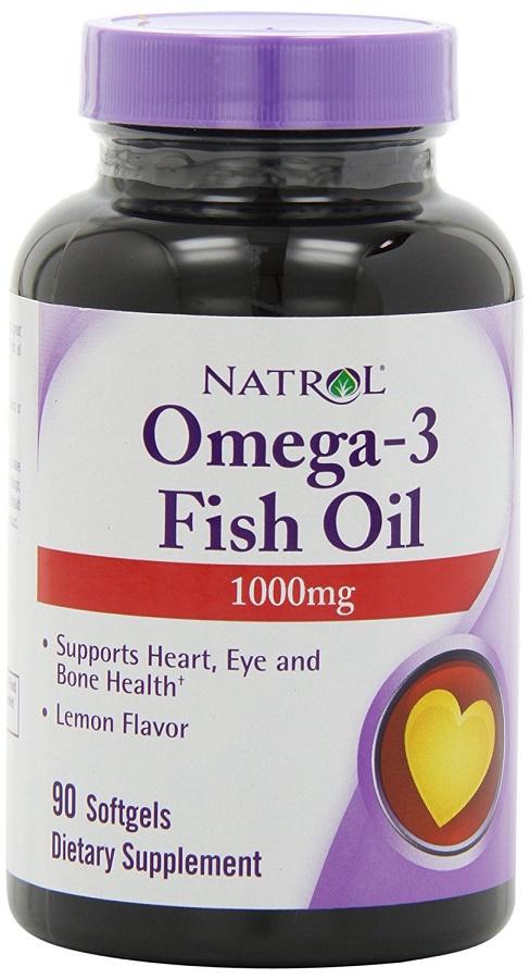 Omega-3 Fish Oil, 1000mg - 90 softgels versandkostenfrei/portofrei bestellen/kaufen