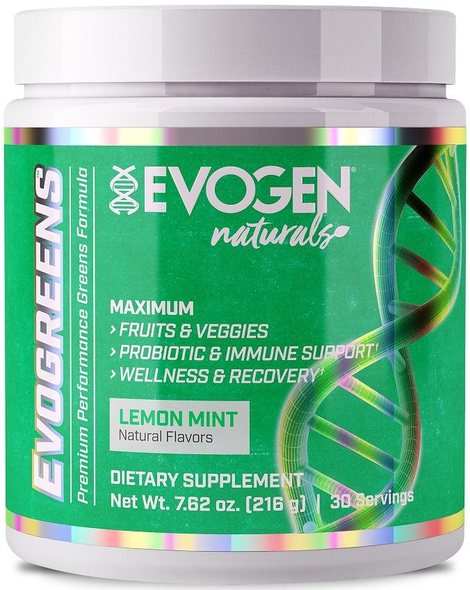 Evogreens Naturals, Lemon Mint - 216g versandkostenfrei/portofrei bestellen/kaufen