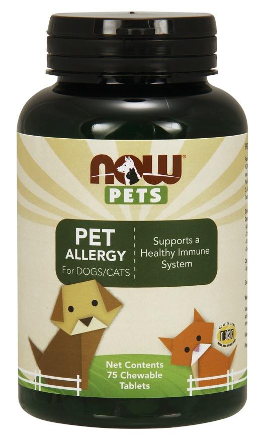 Pets, Pet Allergy - 75 chewable tablets versandkostenfrei/portofrei bestellen/kaufen