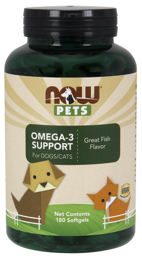 Pets, Omega-3 Support - 180 softgels versandkostenfrei/portofrei bestellen/kaufen