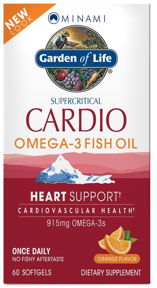 Minami Cardio Omega-3 Fish Oil - 60 softgels versandkostenfrei/portofrei bestellen/kaufen
