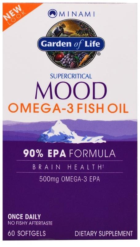 Minami Mood Omega-3 Fish Oil - 60 softgels versandkostenfrei/portofrei bestellen/kaufen
