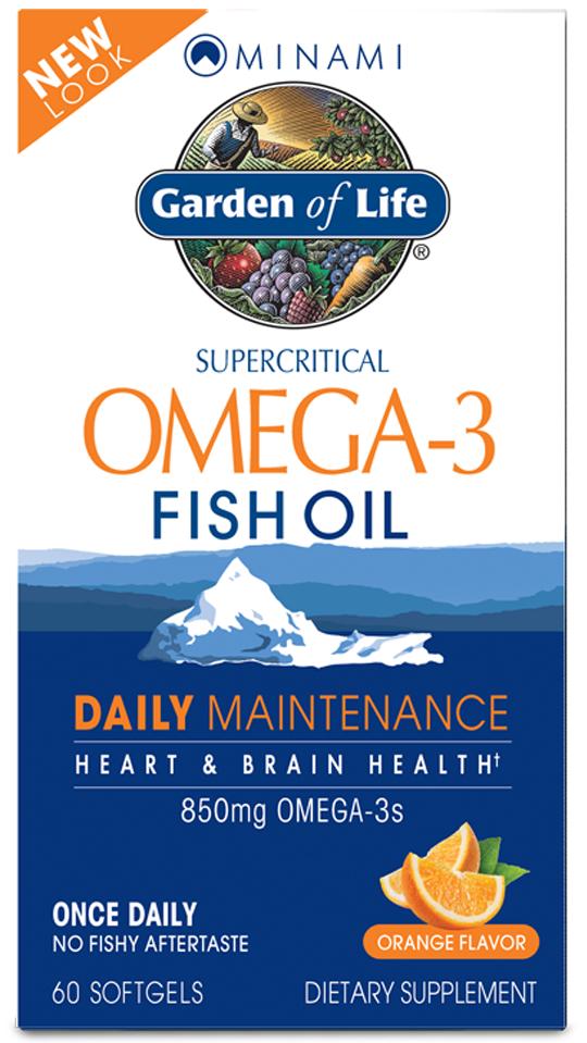 Minami Omega-3 Fish Oil Daily Maintenance, Orange - 60 softgels versandkostenfrei/portofrei bestellen/kaufen