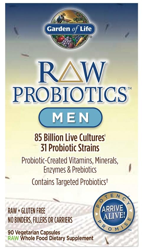 Raw Probiotics Men - 90 vcaps versandkostenfrei/portofrei bestellen/kaufen