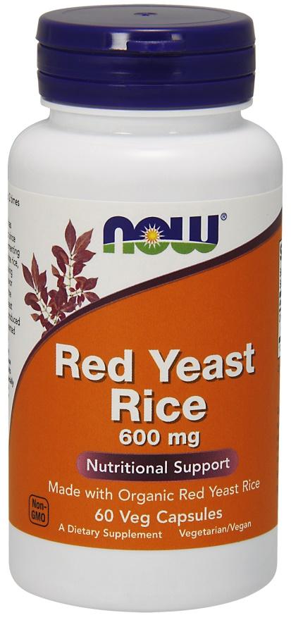 Red Yeast Rice, 600mg - 60 vcaps versandkostenfrei/portofrei bestellen/kaufen