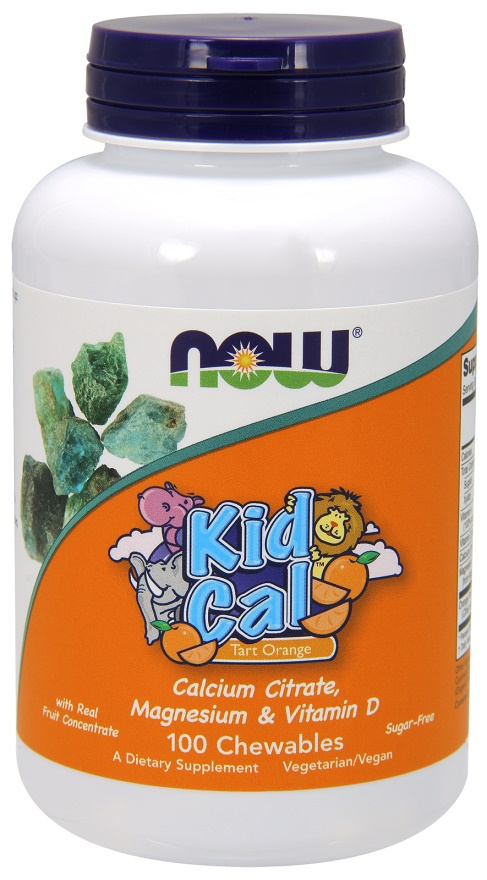Kid Cal - 100 chewables tablets versandkostenfrei/portofrei bestellen/kaufen