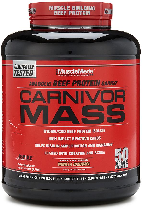 Carnivor Mass, Vanilla Caramel - 2688g versandkostenfrei/portofrei bestellen/kaufen