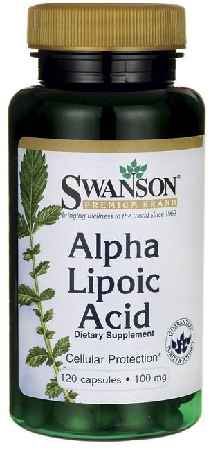 Alpha Lipoic Acid, 100mg - 120 caps versandkostenfrei/portofrei bestellen/kaufen