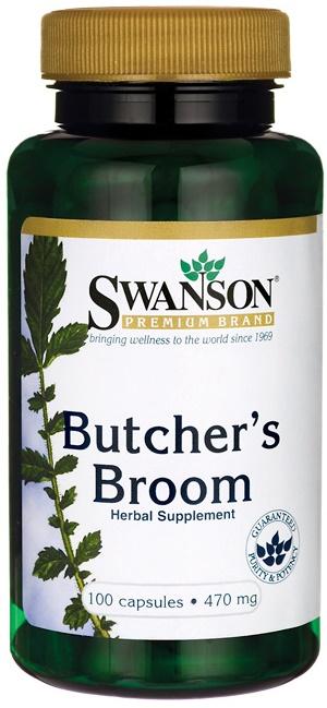 Butcher's Broom, 470mg - 100 caps versandkostenfrei/portofrei bestellen/kaufen