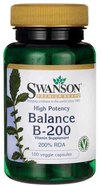 Balance B-200, High Potency - 100 vcaps versandkostenfrei/portofrei bestellen/kaufen