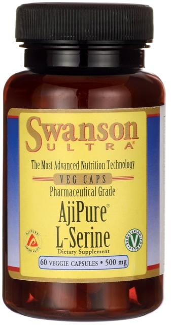 AjiPure L-Serine, 500mg - 60 vcaps versandkostenfrei/portofrei bestellen/kaufen