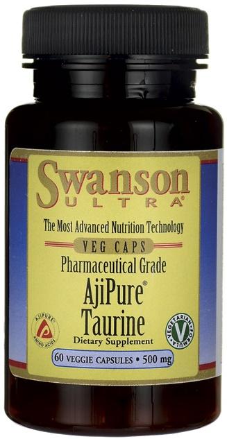 AjiPure Taurine, 500mg - 60 vcaps versandkostenfrei/portofrei bestellen/kaufen