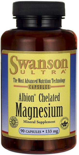 Albion Chelated Magnesium, 133mg - 90 caps versandkostenfrei/portofrei bestellen/kaufen