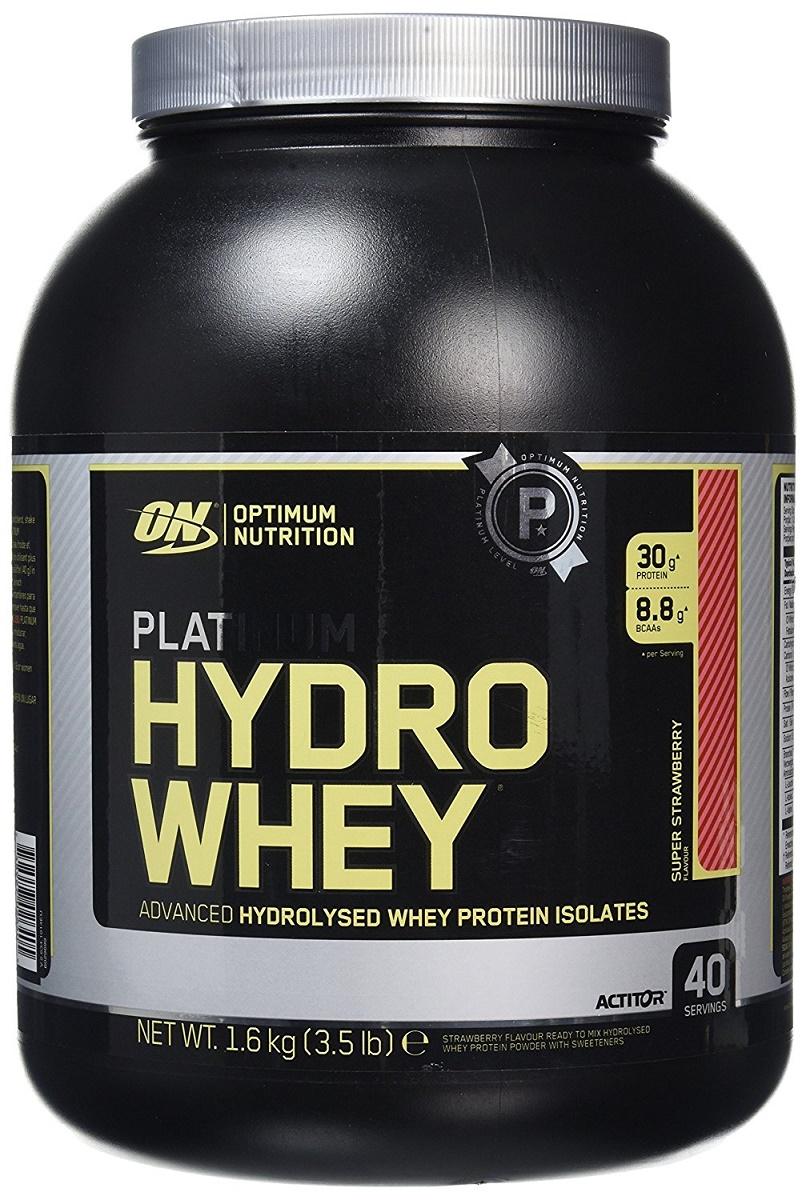 Platinum Hydrowhey, Super Strawberry - 1600g versandkostenfrei/portofrei bestellen/kaufen