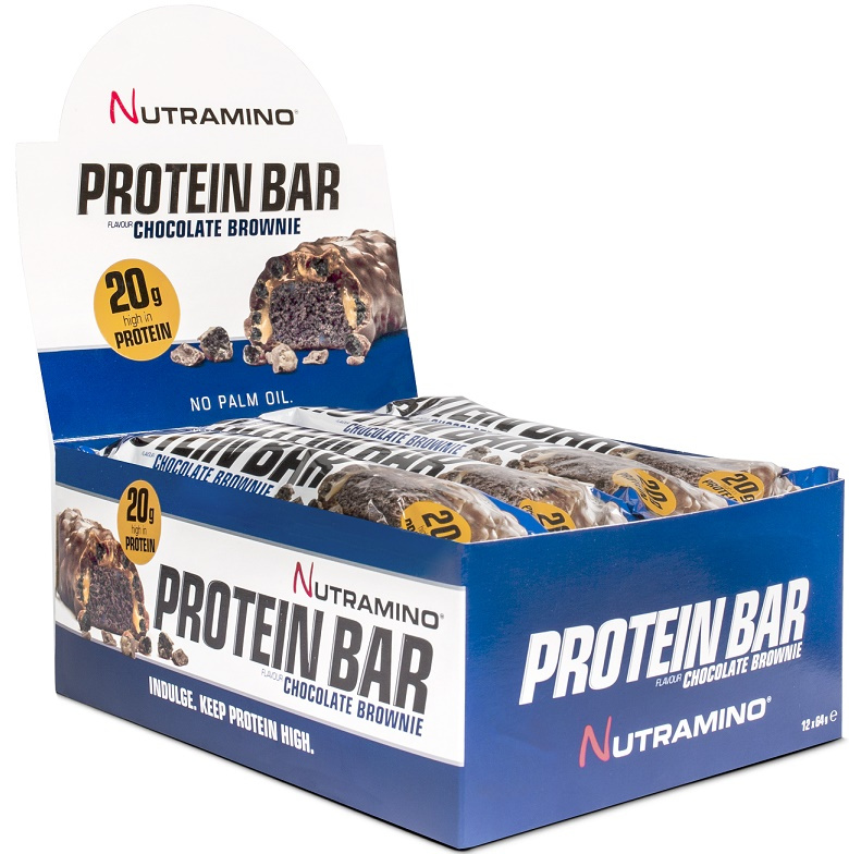 Protein Bar, Chocolate Brownie - 12 x 64g versandkostenfrei/portofrei bestellen/kaufen