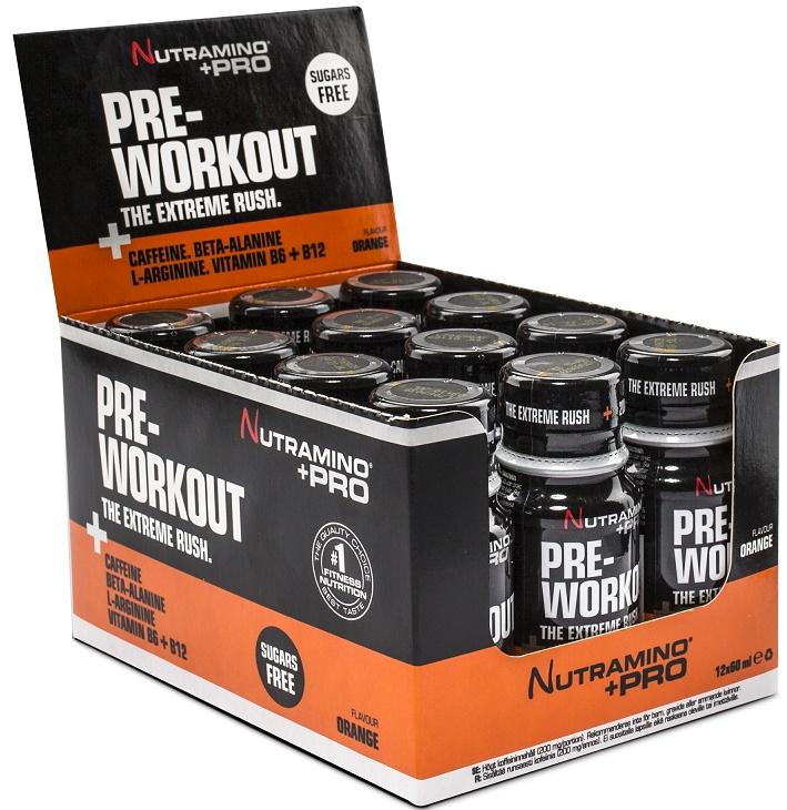 Pre Workout Shot, Orange - 12 x 60 ml. versandkostenfrei/portofrei bestellen/kaufen