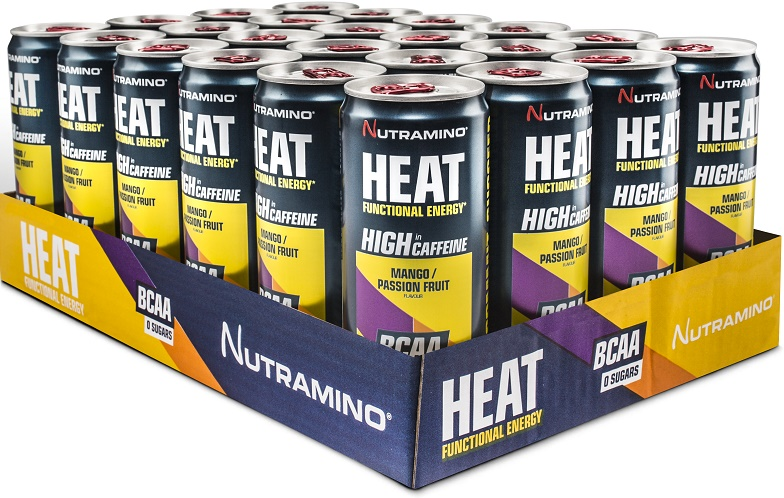 Heat BCAA, Blueberry - 24 x 330 ml. versandkostenfrei/portofrei bestellen/kaufen