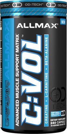 AllMax Nutrition Cremagnavol C:VOL - 240 caps