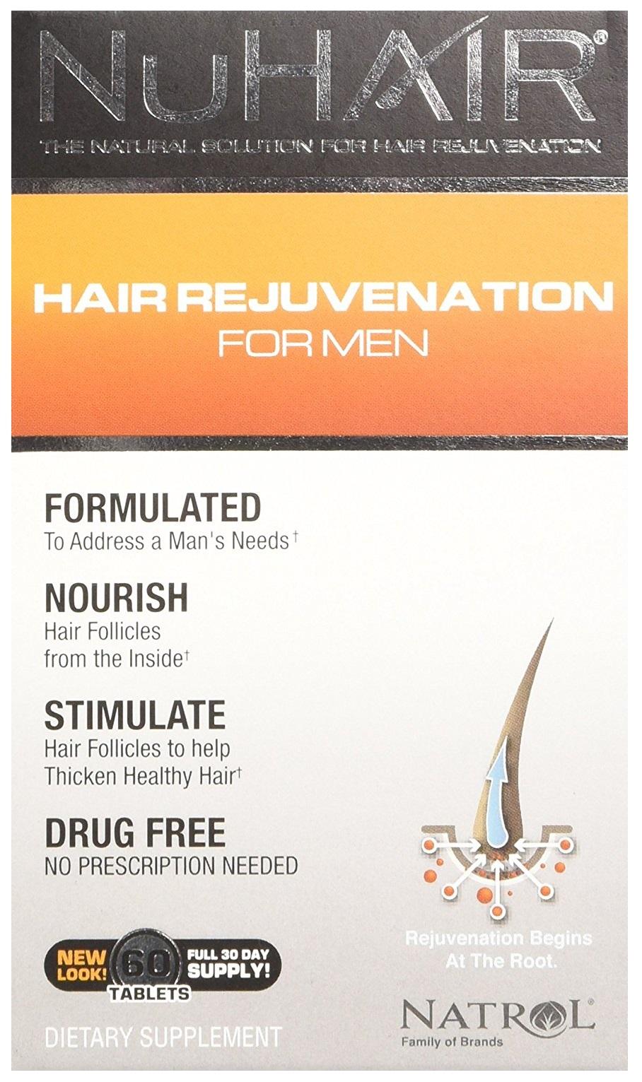 NuHair Hair Rejuvenation for Men - 60 tabs versandkostenfrei/portofrei bestellen/kaufen