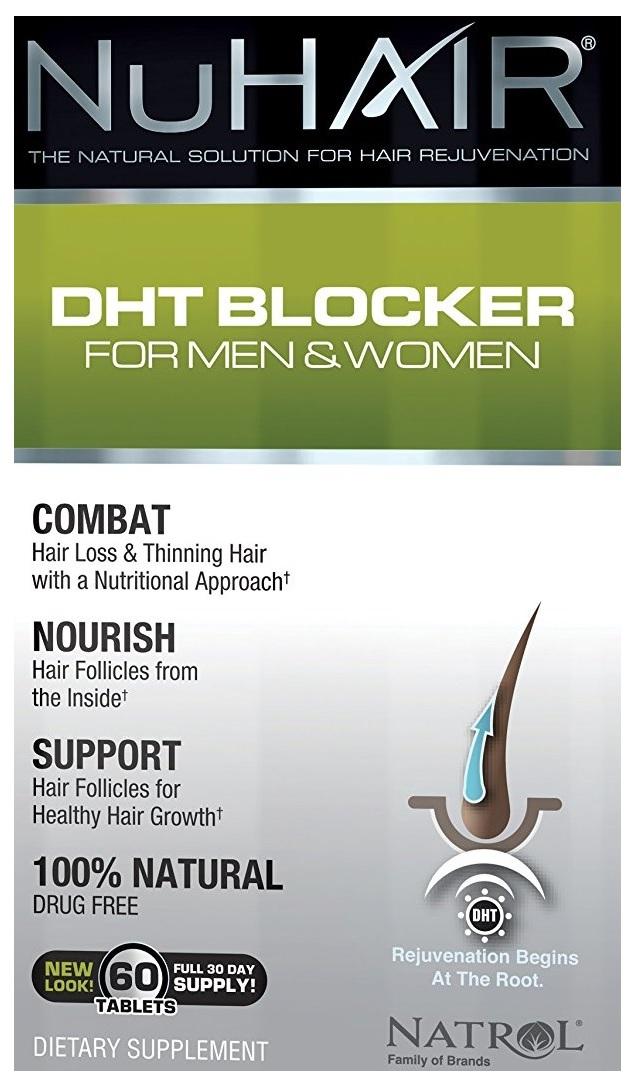 NuHair DHT Blocker for Men & Women - 60 tabs versandkostenfrei/portofrei bestellen/kaufen