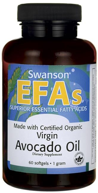 Avocado Oil, 1g - 60 softgels versandkostenfrei/portofrei bestellen/kaufen