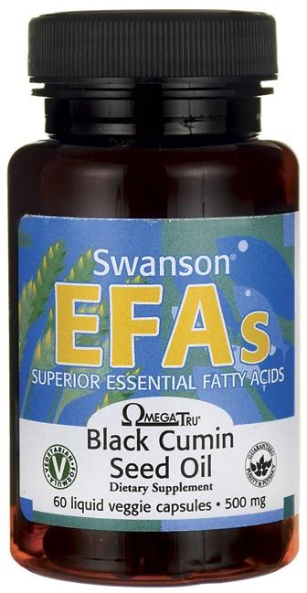 Black Cumin Seed Oil, 500mg - 60 liquid vcaps versandkostenfrei/portofrei bestellen/kaufen