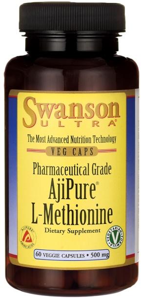 AjiPure L-Methionine, 500mg - 60 vcaps versandkostenfrei/portofrei bestellen/kaufen