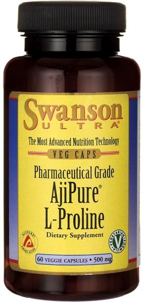 AjiPure L-Proline, 500mg - 60 vcaps versandkostenfrei/portofrei bestellen/kaufen