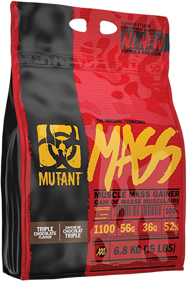 Mutant Mass (New Formula and Package), Chocolate Fudge Brownie - 6800g versandkostenfrei/portofrei bestellen/kaufen