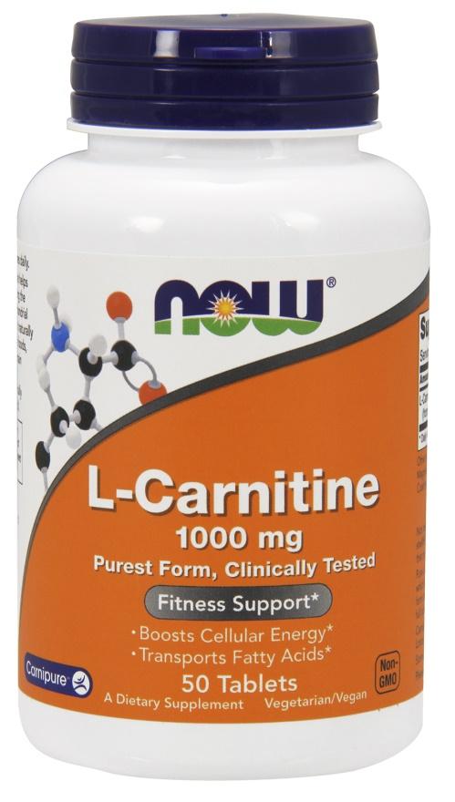 L-Carnitine, 1000mg - 50 tabs versandkostenfrei/portofrei bestellen/kaufen