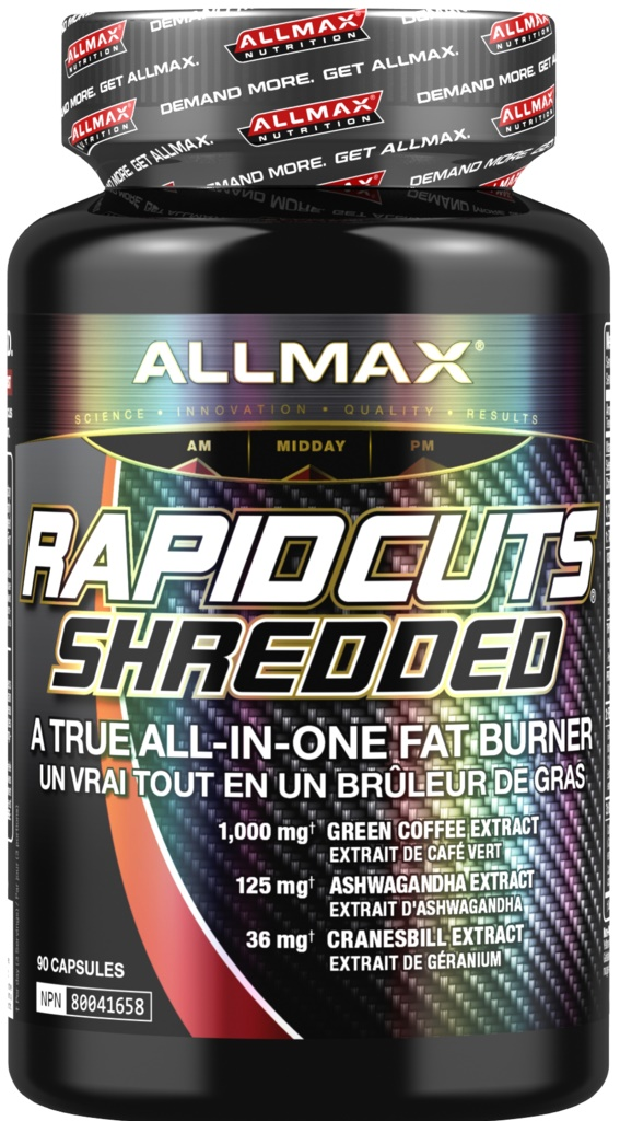 AllMax Nutrition Rapidcuts Shredded - 90 caps