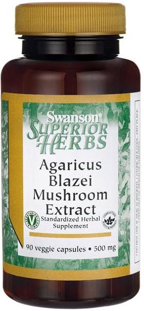 Agaricus Blazei Mushroom Extract, 500mg - 90 vcaps versandkostenfrei/portofrei bestellen/kaufen
