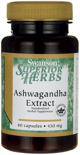Ashwagandha Extract, 450mg - 60 caps versandkostenfrei/portofrei bestellen/kaufen