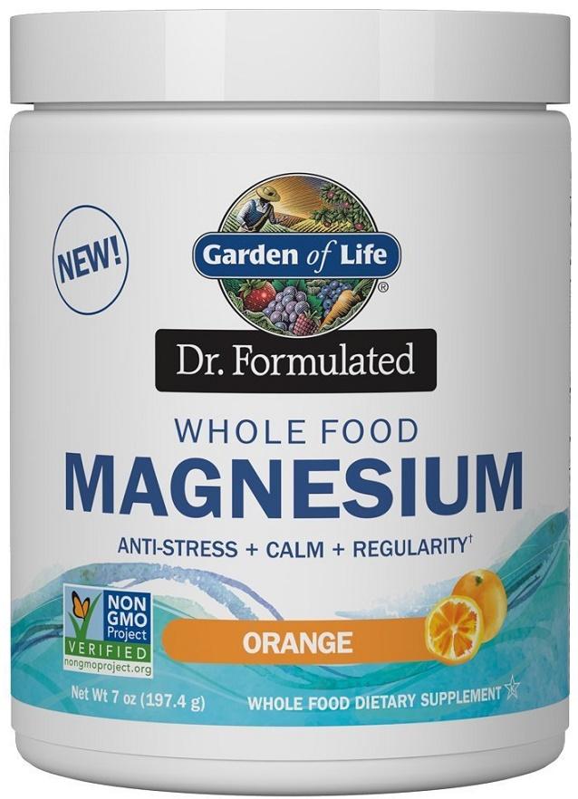 Dr. Formulated Whole Food Magnesium, Raspberry Lemon - 198g versandkostenfrei/portofrei bestellen/kaufen