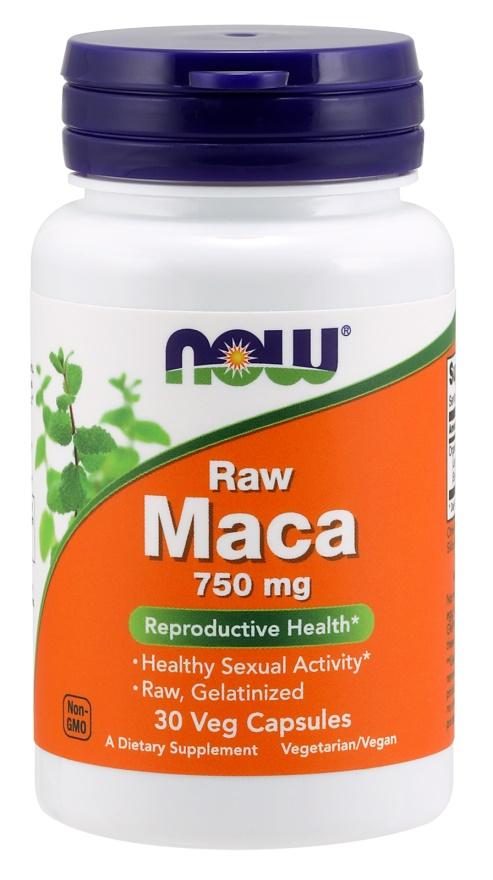 Maca, 750mg RAW - 30 vcaps versandkostenfrei/portofrei bestellen/kaufen