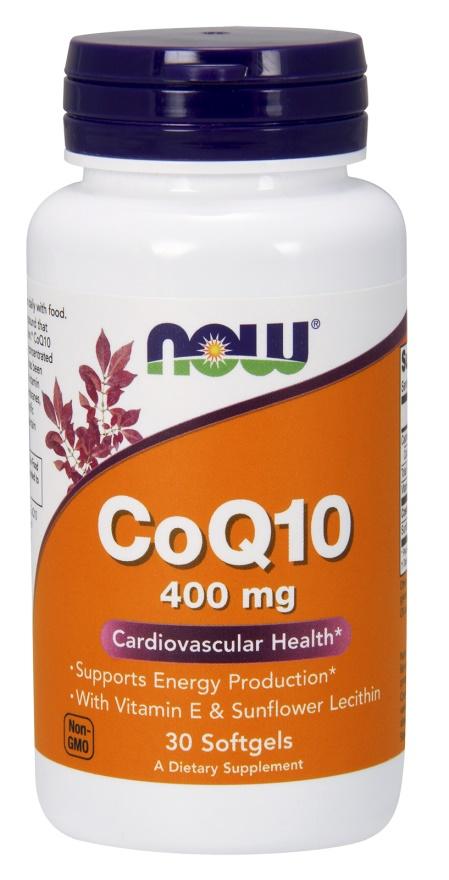 CoQ10 with Vitamin E & Sunflower Lecithin, 400mg - 30 softgels versandkostenfrei/portofrei bestellen/kaufen