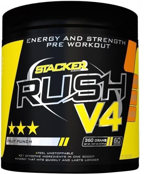 Rush V4, Fruit Punch - 360g versandkostenfrei/portofrei bestellen/kaufen