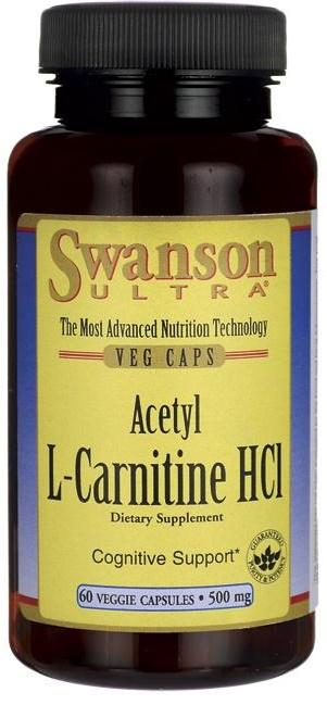 Acetyl L-Carnitine HCl, 500mg - 60 vcaps versandkostenfrei/portofrei bestellen/kaufen