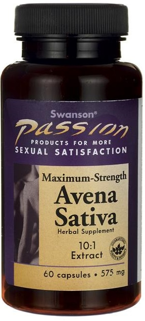 Avena Sativa Extract, 575mg Max Strength - 60 caps versandkostenfrei/portofrei bestellen/kaufen