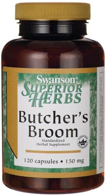 Butcher's Broom (Standardized), 150mg - 120 caps versandkostenfrei/portofrei bestellen/kaufen